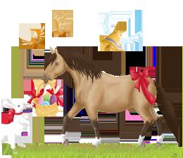 stage des vacances de paques cheval_paques